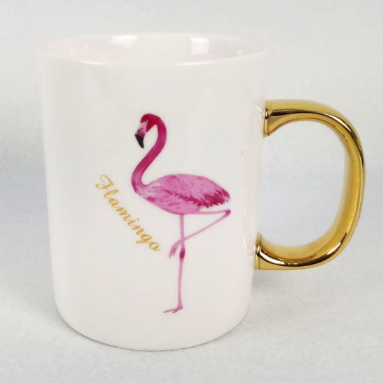 High Quality Ceramic Porcelain Flamingos Coffee Mugs Wholesales pictures & photos