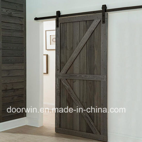 China Sliding Door With Top Track Double K Type Interior Doors For