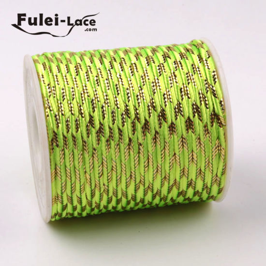 Factory Wholesale Custom Colorful Cord 3 mm pictures & photos