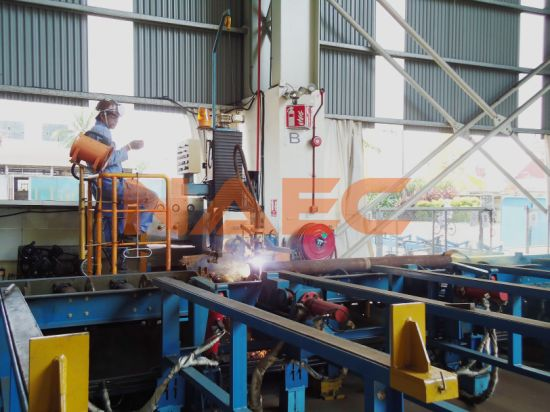 Multi-Axis CNC Flame / Plasma Pipe Cutting and Profilling Machine