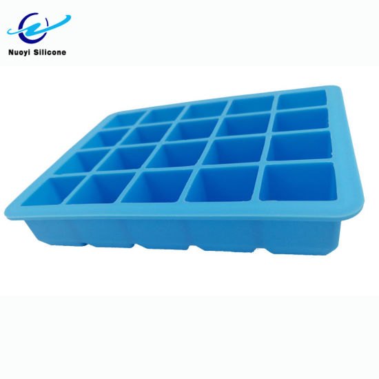 15 Cavity Silicone Ice Cube Tray Makes Square Ice Candy Cake Chocolate