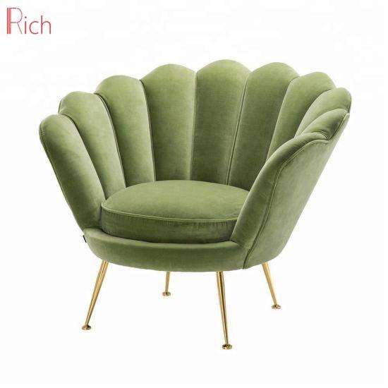 Modern Fabric Leisure Living Room Furniture Armchair Shell Chair Sofa
