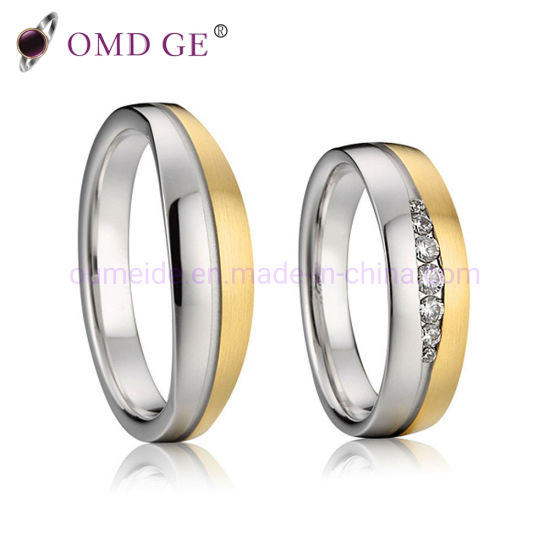 7f3392d8243ee China Stainless Steel Jewelry Wedding Ring Sets - China Wedding Ring ...