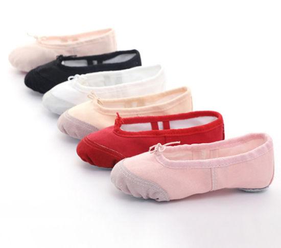 Comfortable Breathable Canvas Ballet Dancing Shoe