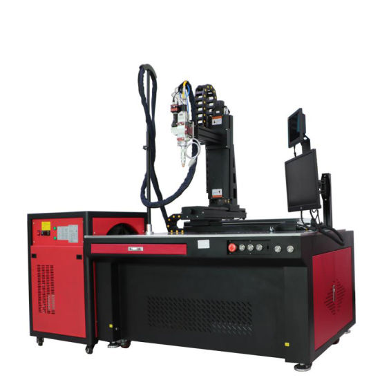 1000W 1500W Automatic Prismatic Lithium Battery Pack Aluminum Nickel Busbar Fiber Continuous Laser Welding Welder CNC Machine