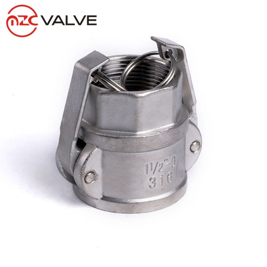 High Quality Stainless Steel 316 Dn250 Quick Coupling Type D