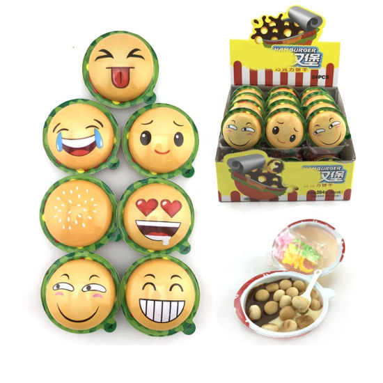 Halal Emoji Cartoon Toy Candy Chocolate Biscuit