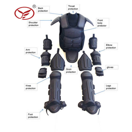 Police Full Body Armor Anti Riot Suit Riot Gear