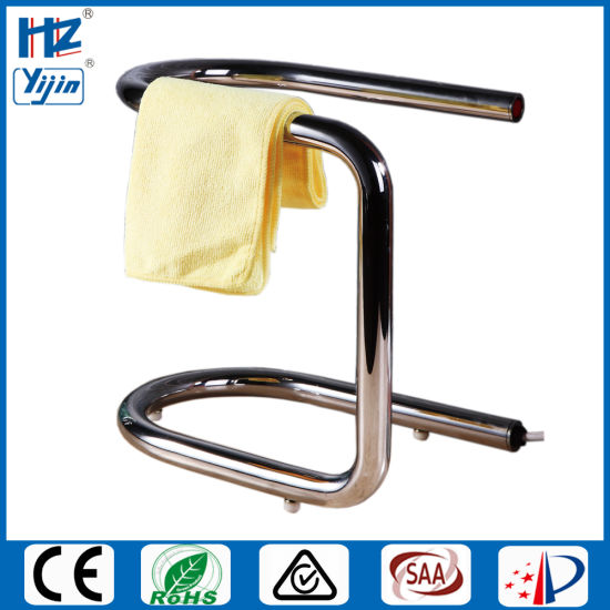 Sanitary Ware Polished Stainless Towel Warmer with Ce Approved pictures & photos