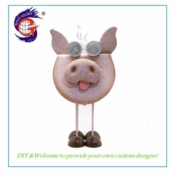 Solar Power Decoration Light Pig Shape Gift Wholesale