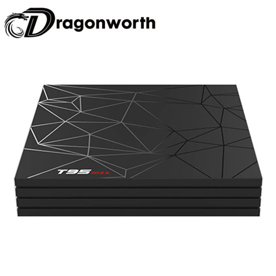 2019 Hot Sales Pendoo T95 Max Allwinner H6 4G 64G Install Google Play Store  Android TV Box Manufacturer Android 8 1 TV Box