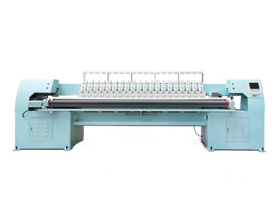 Ybd420 Intelligent CNC High Speed 4-Color Quilting Embroidery Machine for Curtains