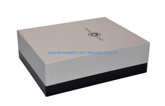 Double Bottle Wine Paper Gift Box Wine Package Box with PVC Insert Wholesale Custom Logo Accept