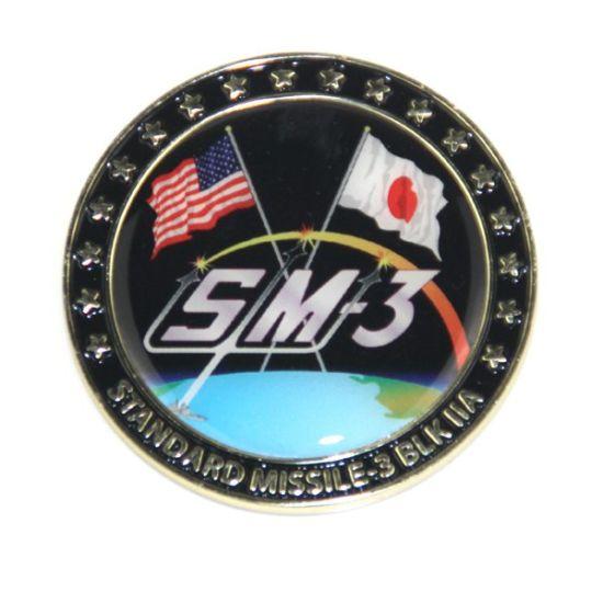 Manufacturer Custom Logo Souvenir Commemorative Gold Silver Antique Brass Zinc Alloy Soft Enamel 3D Navy Military Metal Challenge Coin for Promotional Gift