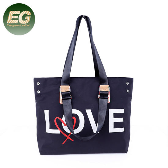 New Large-Capacity Nylon Bag Letter Decoration Fashion Handbag Sh834  pictures   photos 3bad62499d554