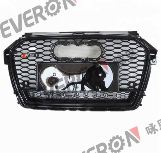 Front Bumper Grille For Audi A1 Upgrade To Rs1 2016