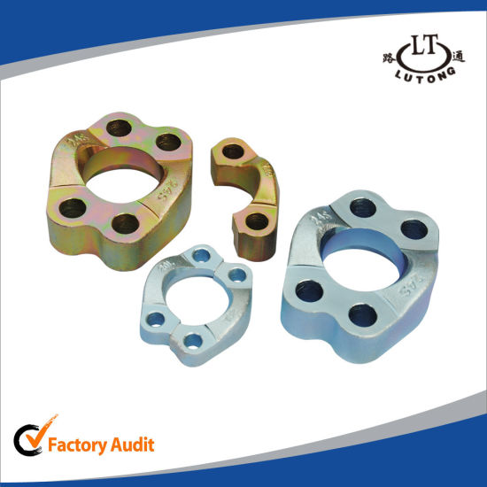 Hydraulic Pipe Fittings 90 Degree Elbow JIS Flange pictures & photos