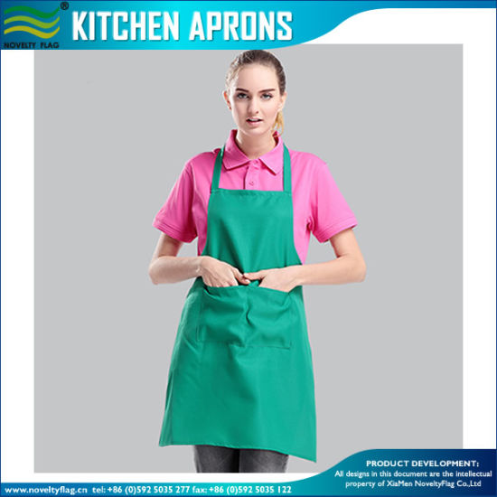 100% Polyester Sublimation Apron/Kitchen Apron/Advert Apron (M-NF30F19003) pictures & photos