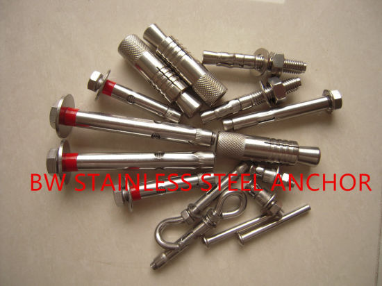 Stainless Steel Bolt Anchor pictures & photos
