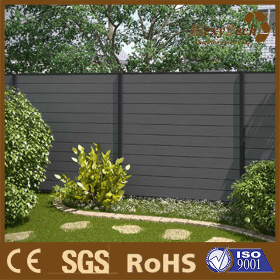 WPC Coextrusion Composite Outdoor Garden Fencing pictures & photos