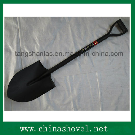 Shovel Round Pointed Welded Steel Handle Shovel Hand Tool pictures & photos