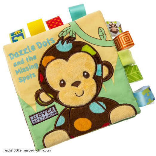 Wholesale Customized Ce Certificate Education Printing Cloth Baby Book pictures & photos