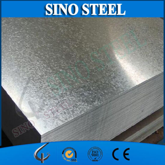 Dx51d SGCC Grade Galvanized Steel Sheet with Kunlun Bank pictures & photos