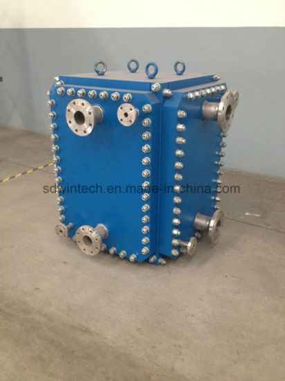 Plate Heat Exchanger for Steam Heating Water pictures & photos