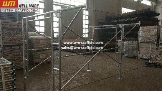 China Construction Concrete Framework Support Walk Through