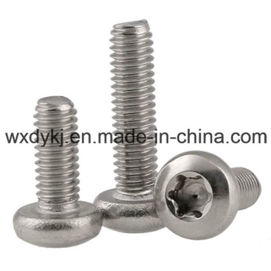 Torx Drive Stainless Steel A2-70 Hexalobular Socket Pan Head Machine Screw pictures & photos