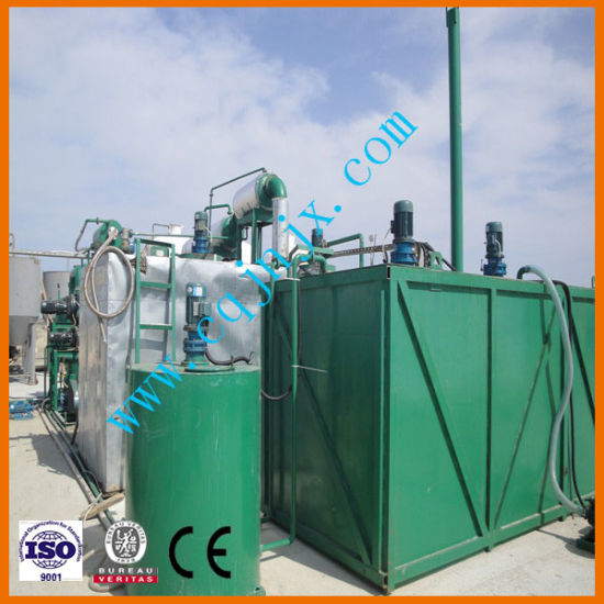 Waste Motor Oil Regeneration System Negative Pressure pictures & photos