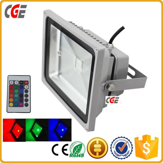 LED Tunnel Lights LED Style Color Change 10W/30W/50W/100W RGB Flood Light Outdoor Lighting LED Flood Light pictures & photos
