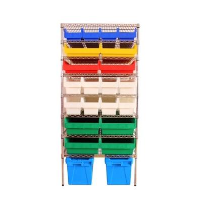 Easy Handling Wholesale Custom Storage Wire Shelving