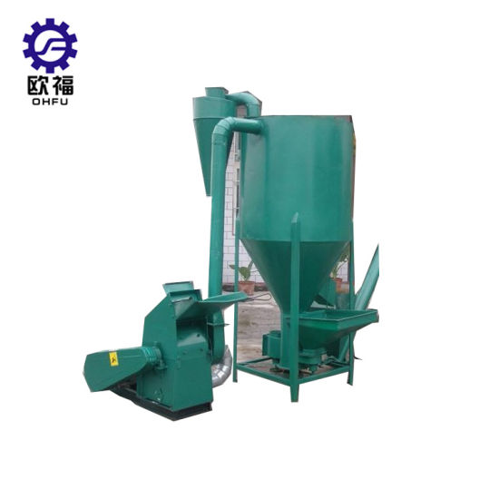 Small Chicken Feed Mixing Machine /Animal Feed Crusher and Mixer/Electric  Feed Grinder
