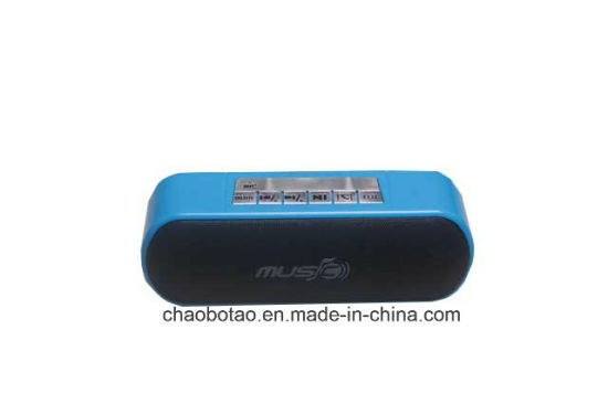 Newest Stereo Bluetooth Speaker Sound Box with Radio USB TF Card Play pictures & photos