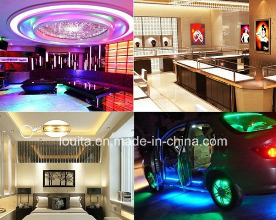 12V IP65 Waterproof SMD5050 60LED/M RGB LED Strip Lamp pictures & photos