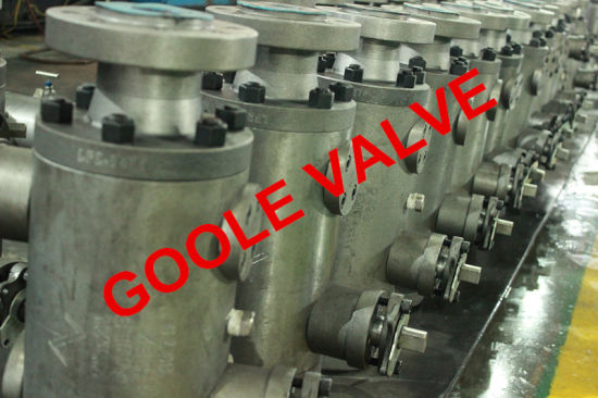 Flanged Double Block Bleed Trunnion Dbb Ball Valve (DBBQ347F) pictures & photos