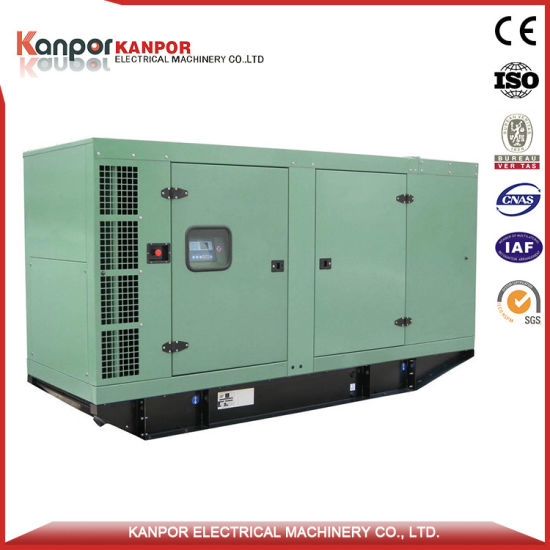 Green Power Water Cooling 300kw Free Energy Type Biogas Generator pictures & photos