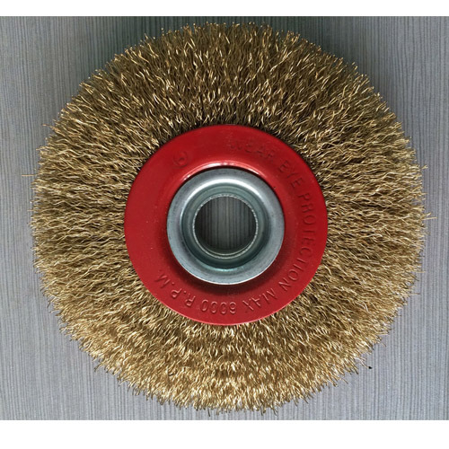Steel Wire Brushes as Abrasive Tools