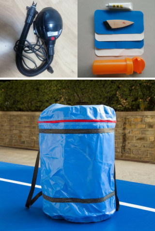 20 Cm Inflatable Air Tumble Track, Outdoor Tumble Mattress Factory Wholesale
