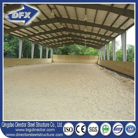Professional Design Low Cost Steel Structural Cow Farm House
