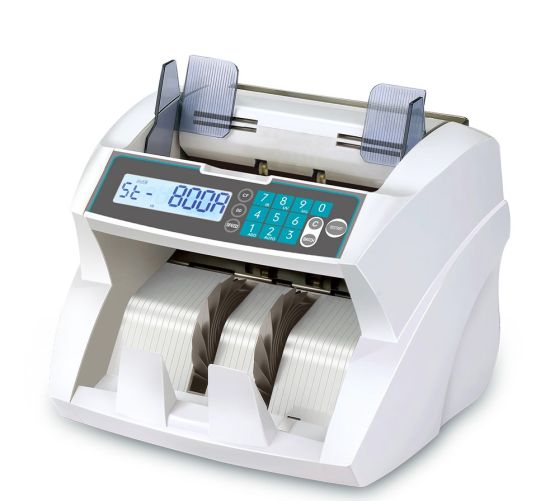 Cash Counting Machine with UV Mg IR Detection Currency Counter UV, Mg, IR, Dd