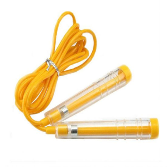 High Quality Fitness Equipment Adjustable PVC Length Jumping Skipping Rope