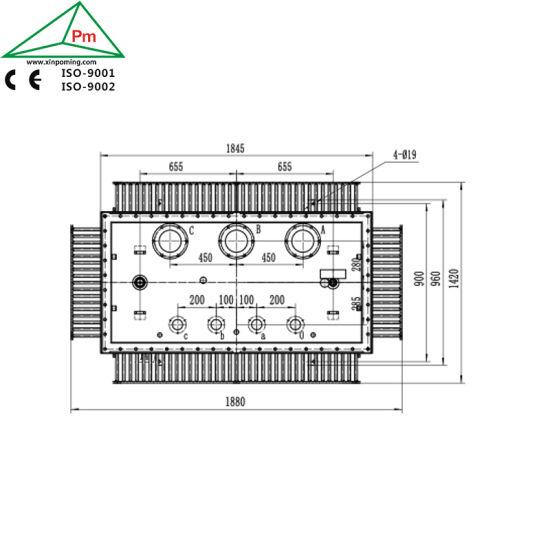 xinpoming onan 500kva step up outdoor transformers dyn11 factory in china