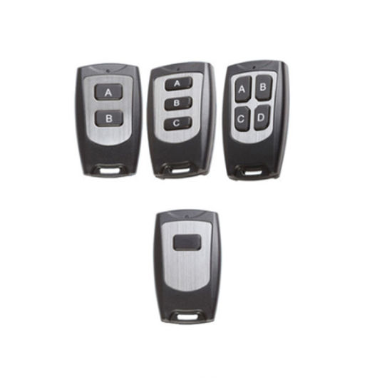 Wireless RF Light Remote Control, 315/433MHz Universal Garage Door Opener, 1/2/3/4 Channel Smart Home Transmitter
