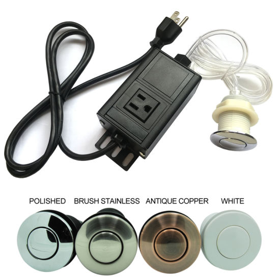 Single Outlet Sink Garbage Disposal Air Switch pictures & photos