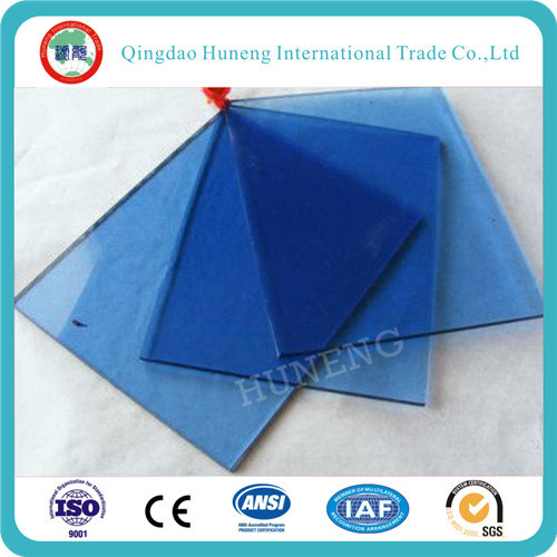 6mm Dark Blue Color Tinted Float Glass pictures & photos