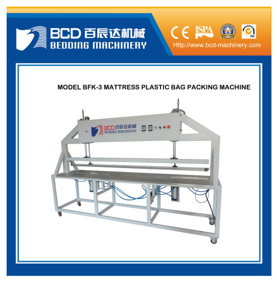 Model Bfk-3 Plastic Film Mattress Packing Machine pictures & photos