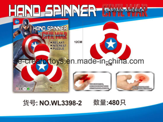 Finger Toy Hand Fidget Spinner in Iron Man /Spider Man / Captain Amercia pictures & photos