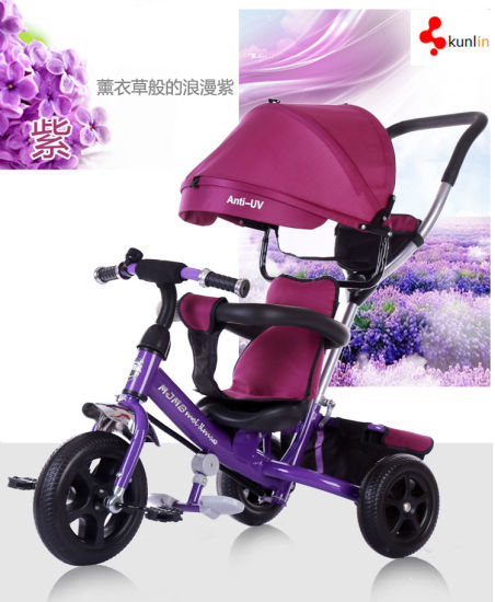 Little Baylor 4 in 1 Kids Tricycle with Canopy & China Little Baylor 4 in 1 Kids Tricycle with Canopy - China Ride ...